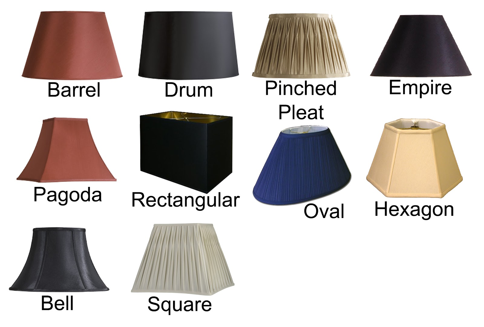 Cleaning tips for lamp shades Types of table lamps