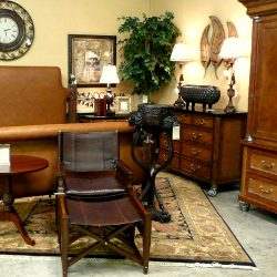 Upscale Consignment offers furniture, many times brand new, for much less than department stores