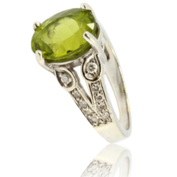 Screenshot_2020-08-06 14K White Gold 4 carat Peridot 27ctw Diamond Ring Upscale Consignment